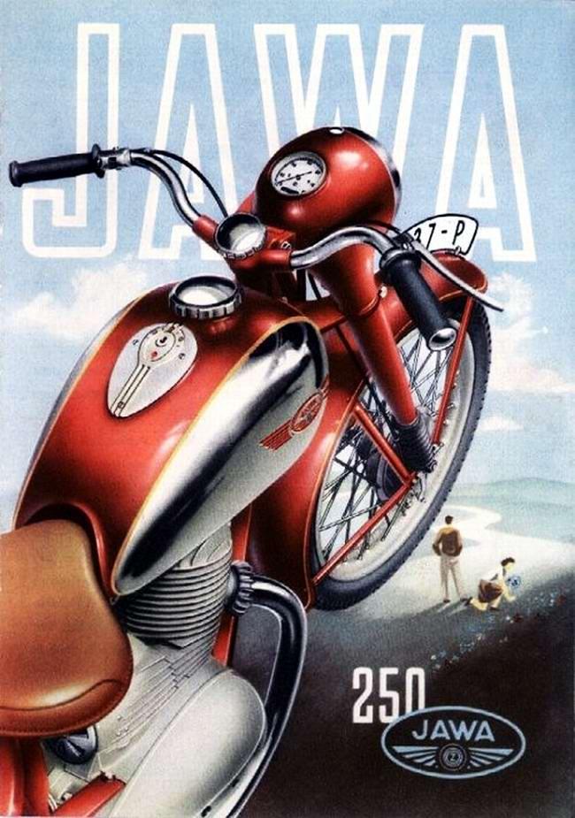 Jawa 250 - Чехословакия (1957 год)