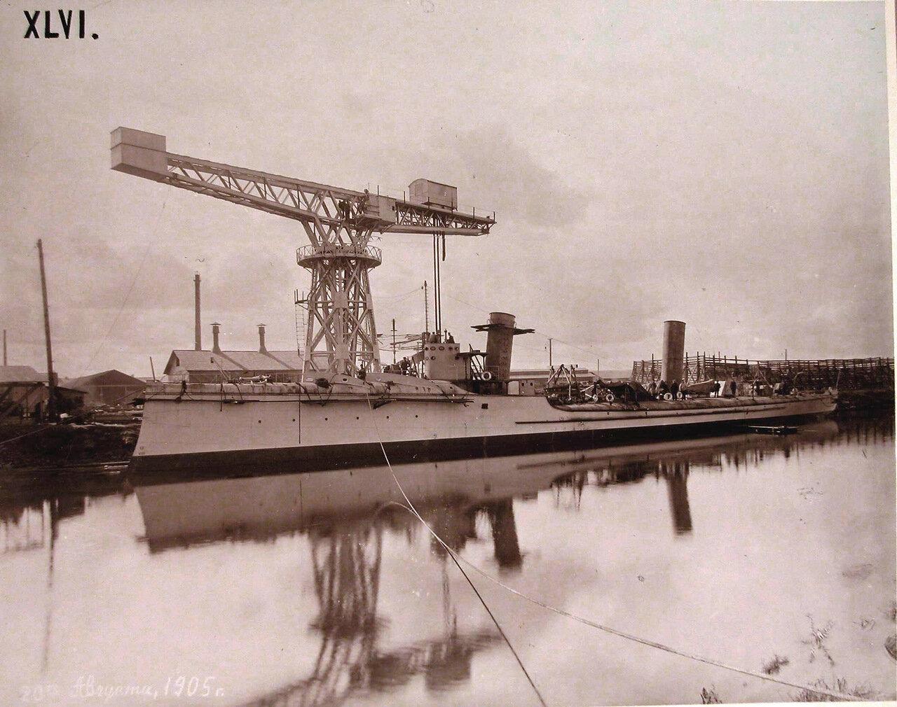 16. Общий вид минного крейсера «Доброволец». 20 августа 1905