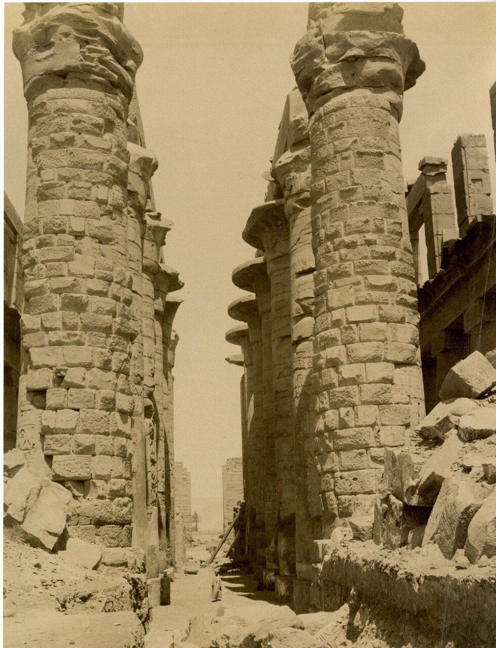 Карнак. Средний проход.1875