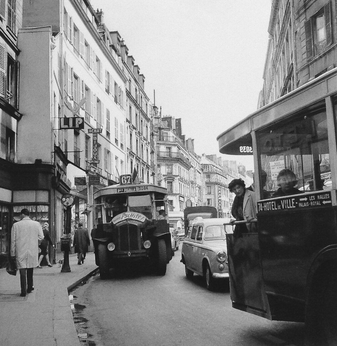 1961. Рю де Фобур. Монмартр