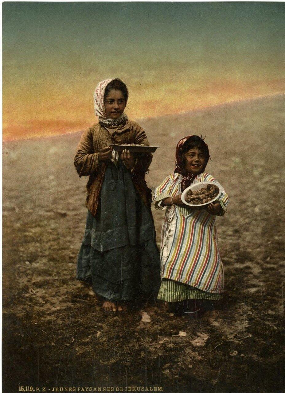 Арабские девочки из Иерусалима