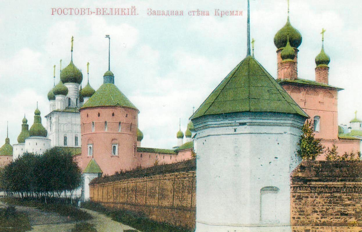 Кремль. Западная стена