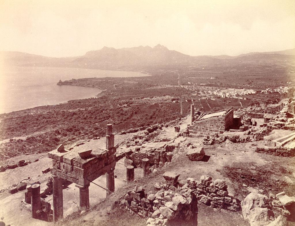 Солунт. Руины города