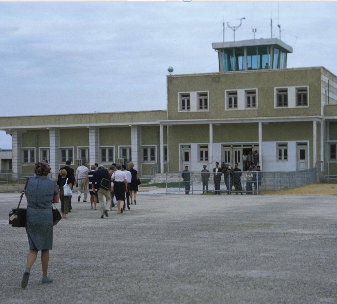 Мазари-Шариф. Аэропорт