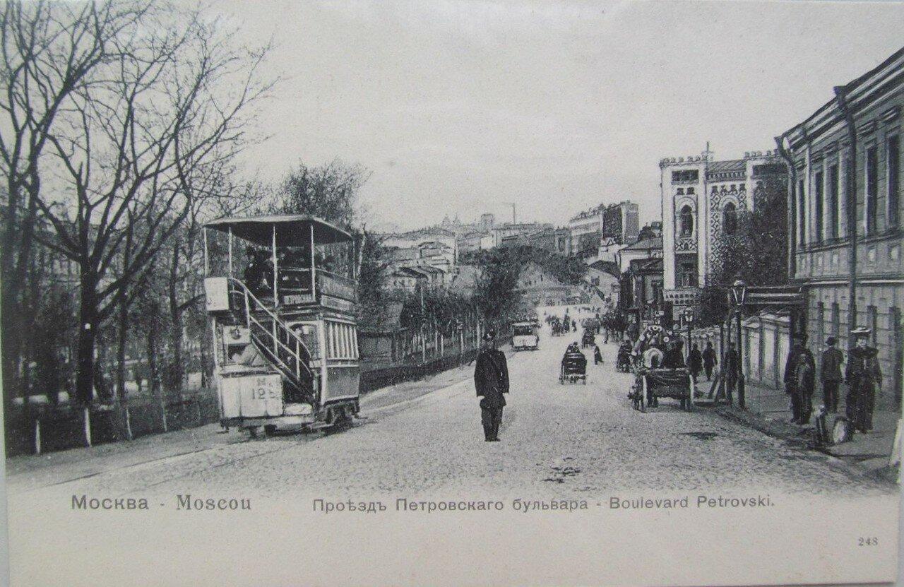 Проезд Петровского бульвара