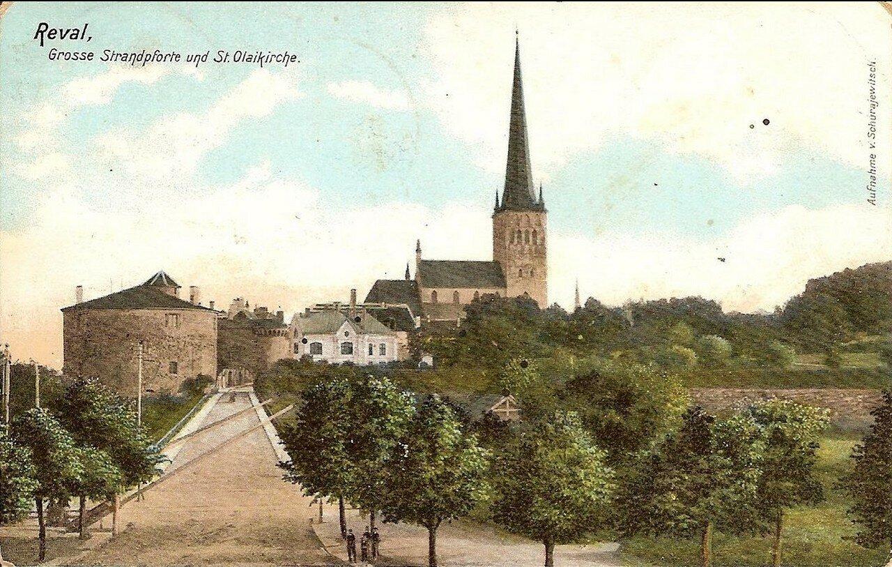 Церковь святого Олафа и Большие Морские ворота