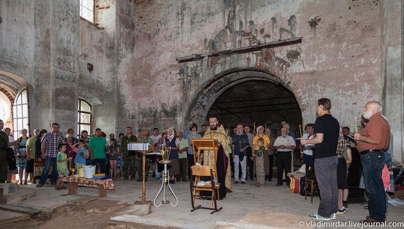 Церковь святителя Василия Великого - праздник святого пророка Ильи