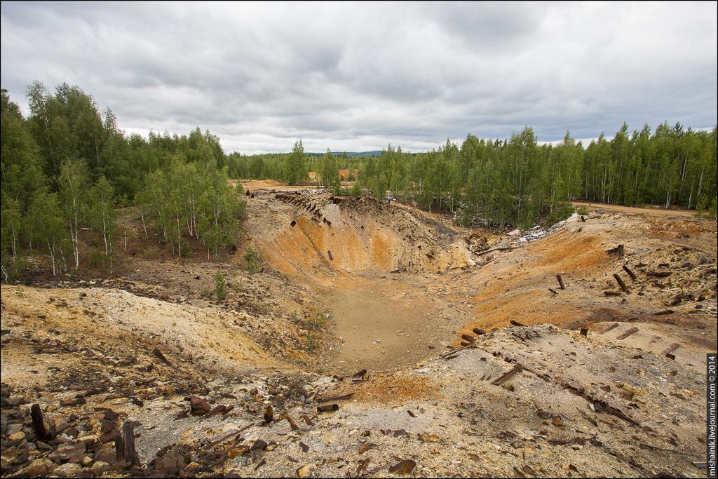 Левихинский рудник Кировградского медеплавильного комбината