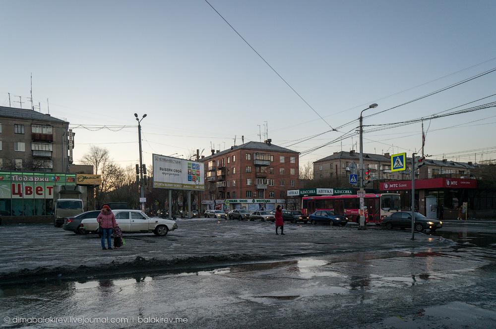 Россия в грязи