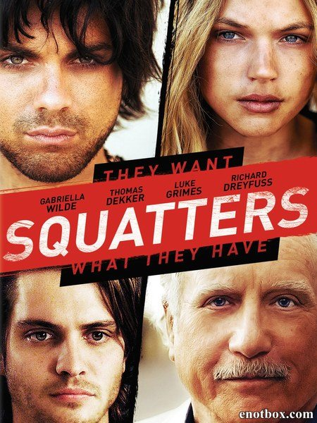 Поселенцы / Squatters (2014/WEB-DL/WEB-DLRip)