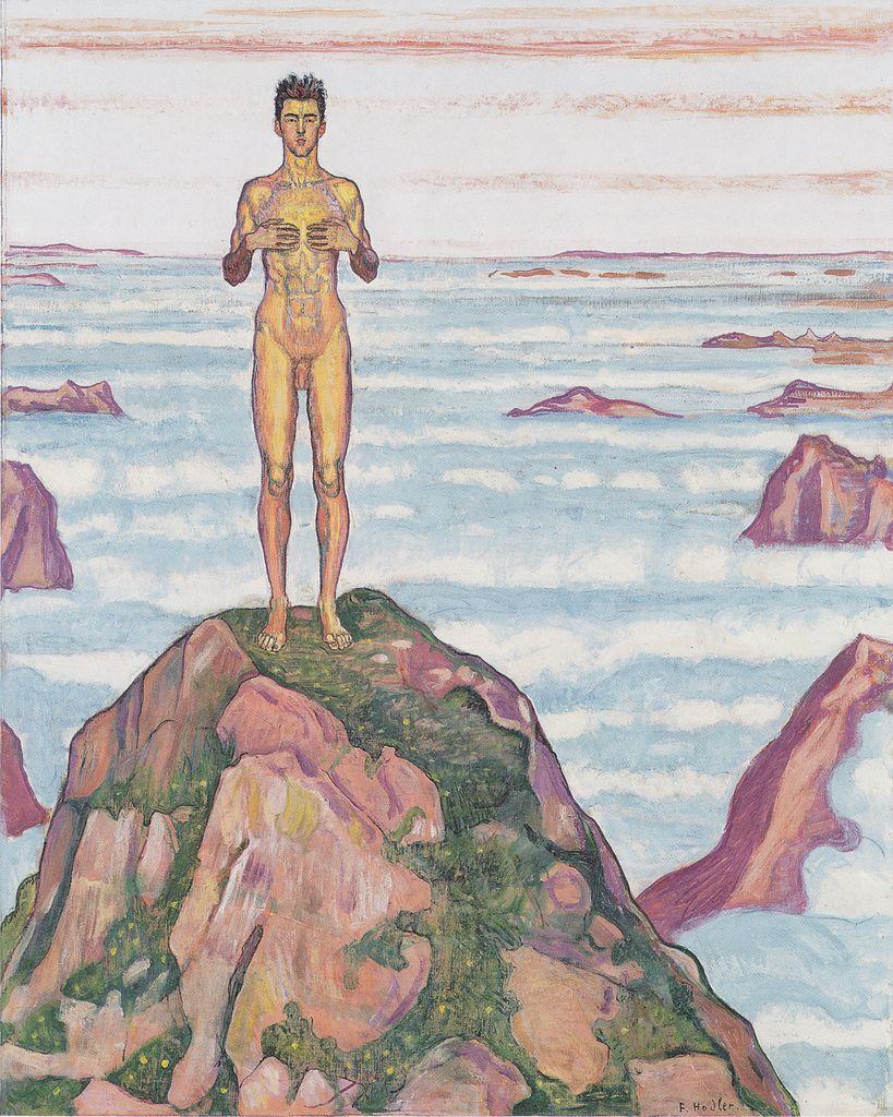 Глядя в бесконечность. (1903-1906) Фердинанд Ходлер (1853-1918).jpeg