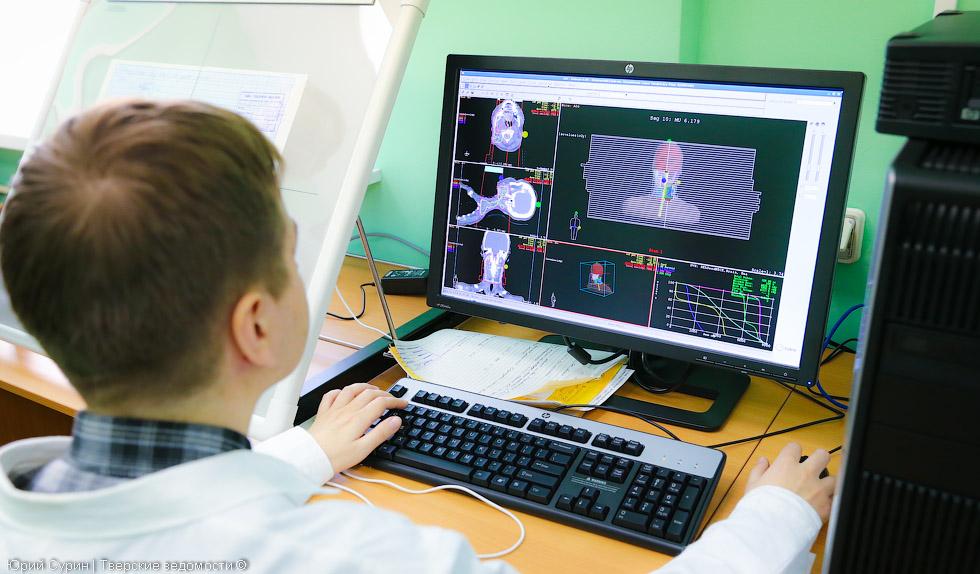лучевая терапии, онкодиспансер, Тверь, 2014