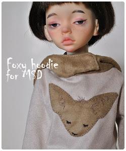 MSD foxy hoodie