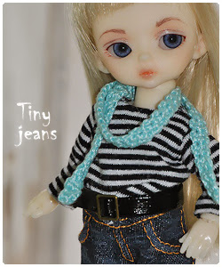 Tiny Jeans for Hujoo Baby