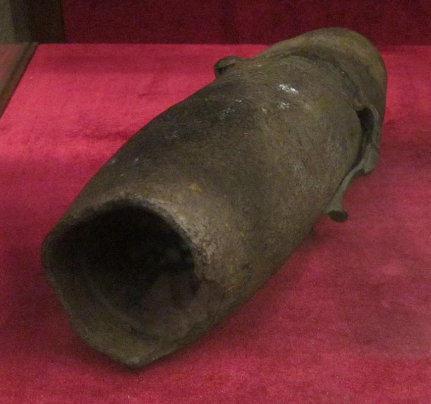 3-х дюймовая фугасная граната образца 1907 года. Российская империя.