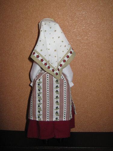 Куклы в народных костюмах №73 Кукла в еврейском женском костюме