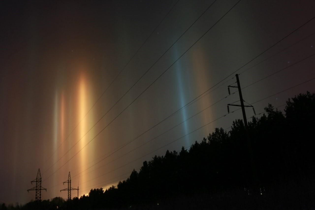 фото природных световых эффектов тем