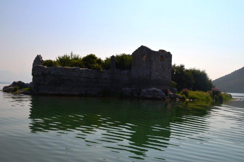 Скадарское озеро, крепость Грможур