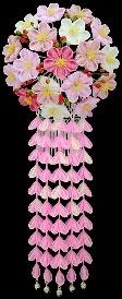 Канзаши - длинные шпильки, украшения, заколки в традиционной японской прическе майко и гейши. История, описание по месяцам года и видео мастер-класс