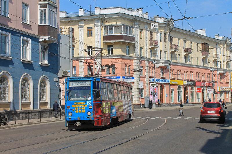 Трамвай №4 на разворотном