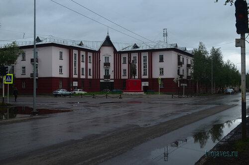 Фото города Инта №7129  Северо-восточный угол Кирова 19 24.08.2014_12:01