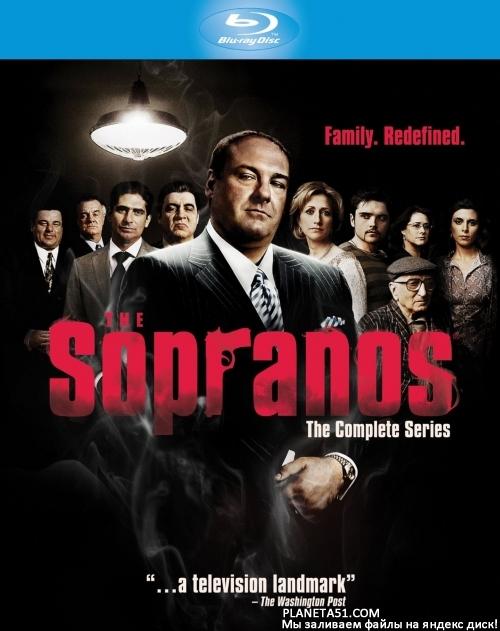 Клан Сопрано (1 сезон: 1-13 серии из 13) / The Sopranos / 1999 / ПМ (Amedia) / BDRip (1080p)