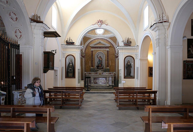 Ischia, Forio. The Soccorso Church (Chiesa di Santa Maria del Soccorso)