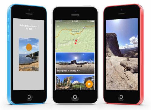 Google запускает фото-приложение Photo Sphere Camera для iOS