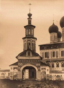 Вид Святых врат Борисоглебского собора. Ярославская губ.
