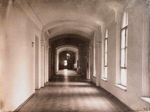 Вид части коридора госпиталя.