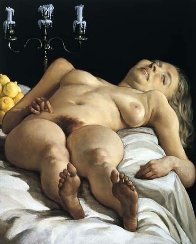 Секс и эротика западных художниках