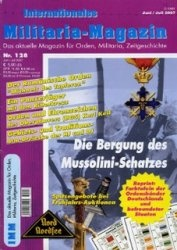 Журнал Internationales Militaria-Magazin 128