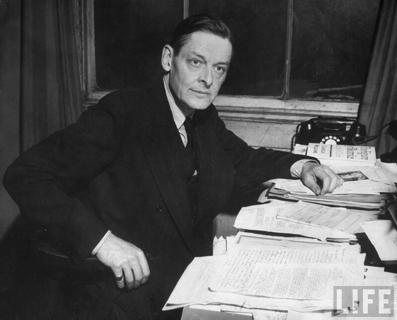 thomas stearns eliot essay Thomas stearns eliot was born to a very distinguished new england family on september 26, 1888, in st louis, missouri his father, henry ware, was a very.