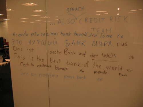The best bank in the world