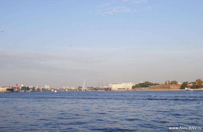 Биржевой мост и Малая Нева
