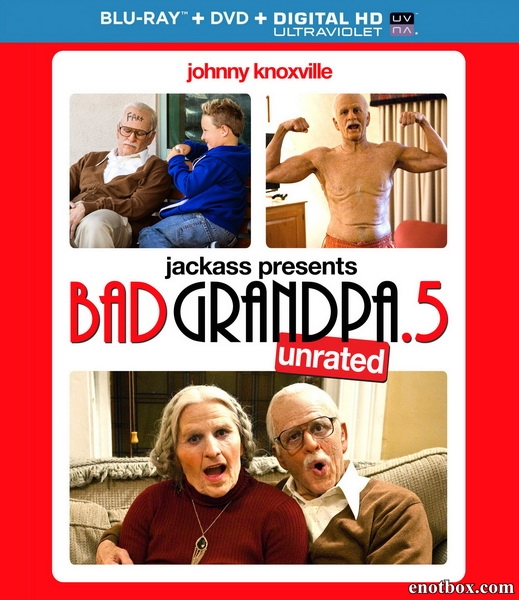 Несносная бабуля / Jackass Presents: Bad Grandpa .5 (2014/BD-Remux/BDRip/HDRip)
