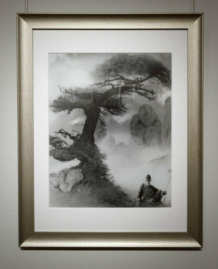 Лан Цзиншань. Наставник, сидящий под сосной