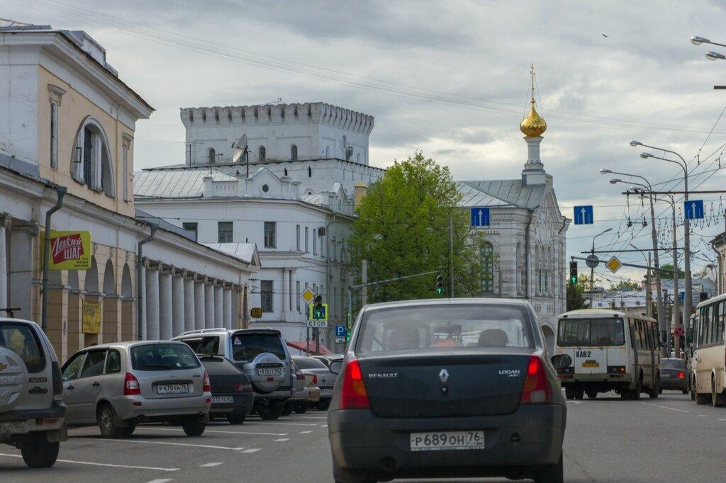 Церковь иконы Божией Матери Знамение и Знаменская башня, Ярославль