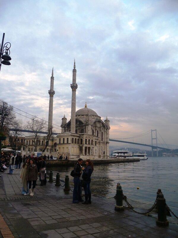 Мечеть Ортакей - Стамбул, Турция (Ortakoy Mosque - Istanbul, Turkey)