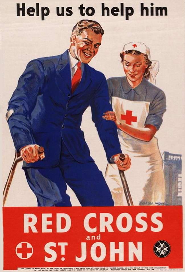 Красный Крест - давайте ему поможем (Великобритания)