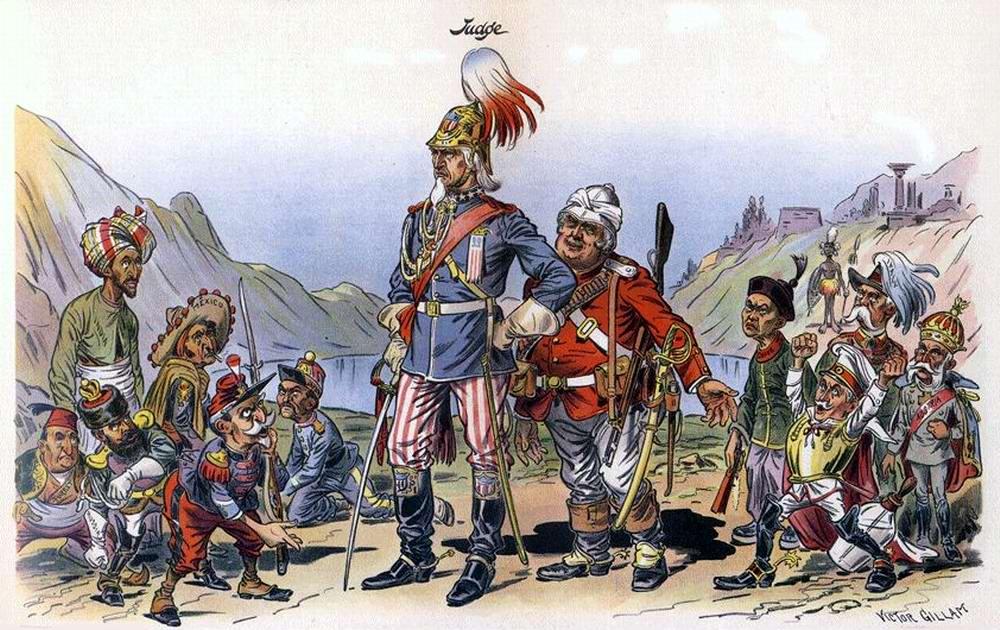 Новый гигант среди великих наций (1898 год)