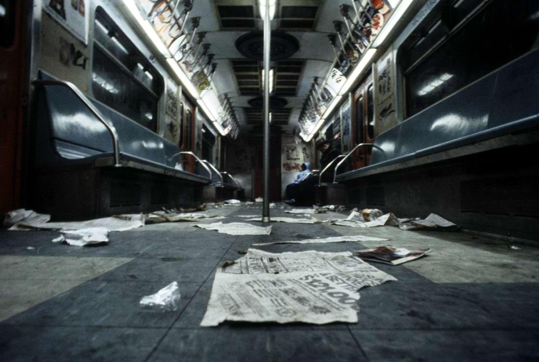 Американский фотограф Christopher Morris: Граффити и андеграунд нью-йоркского метро (39)