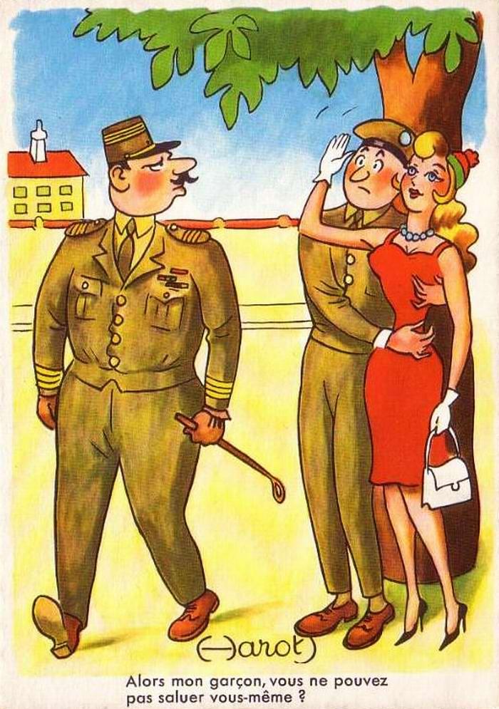 Девочка и солдат открытки