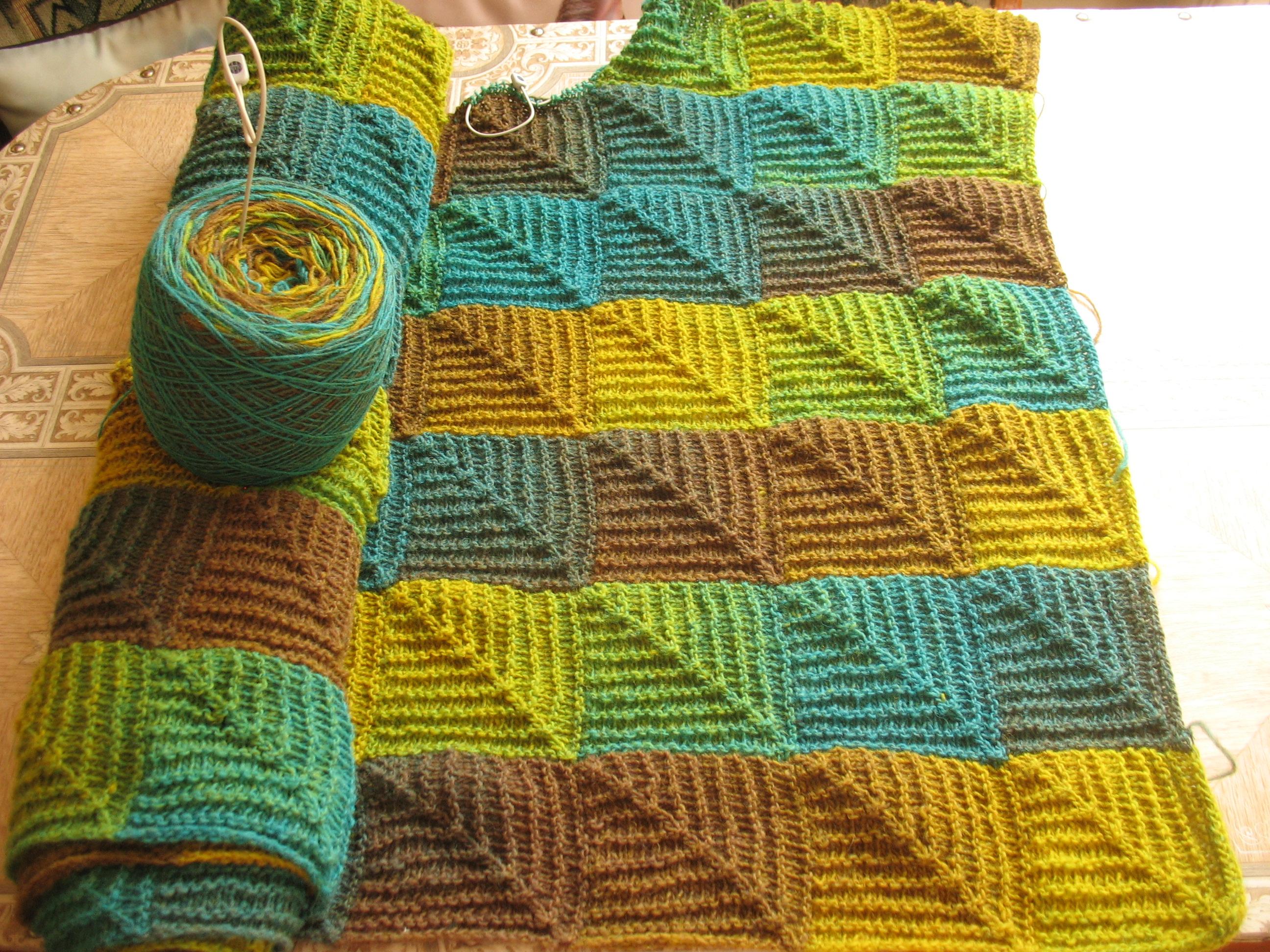 Вязание в стиле пэчворк спицами страна мам