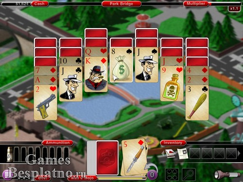 Crime Solitaire: The Smoking Gun