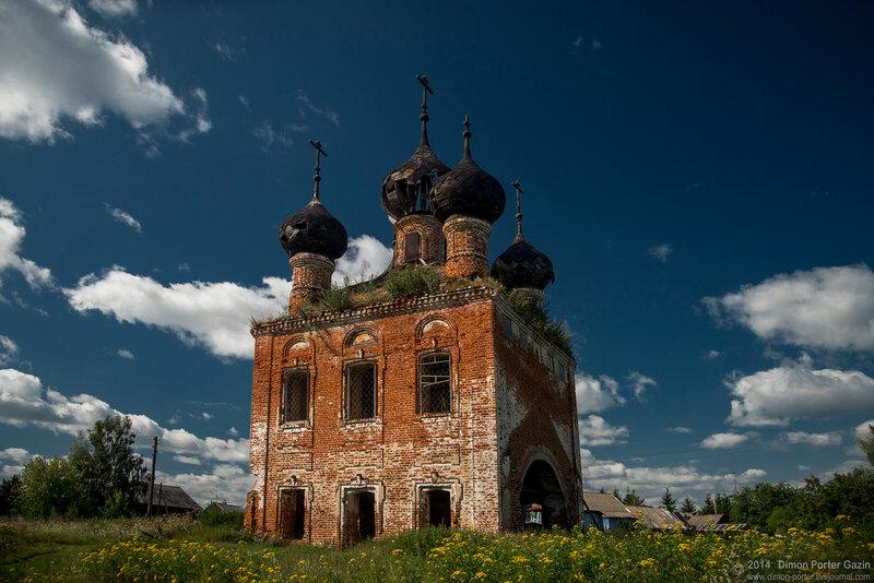 Тихвинская церковь в Тимозхино