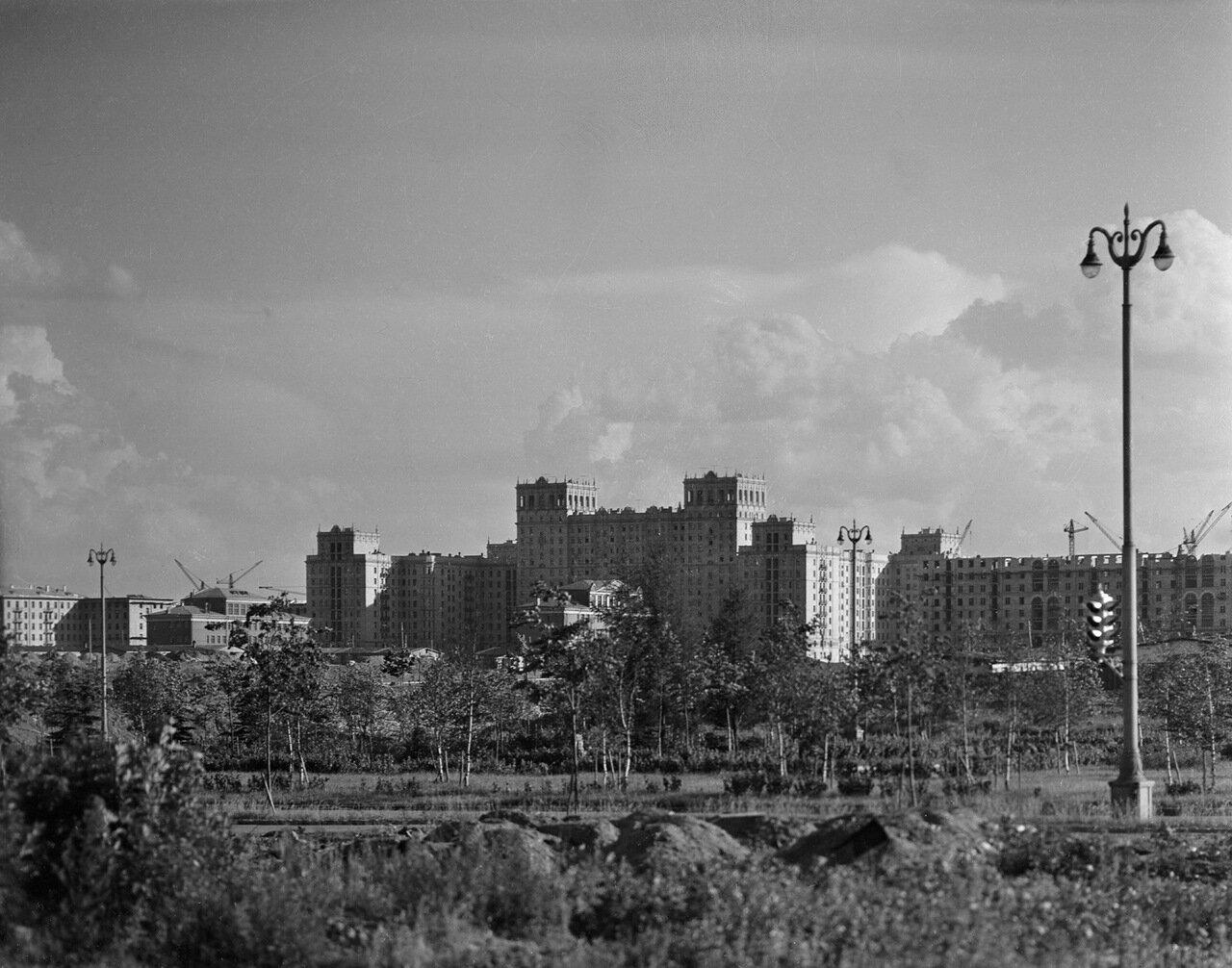 Строительство Юго-Западного района