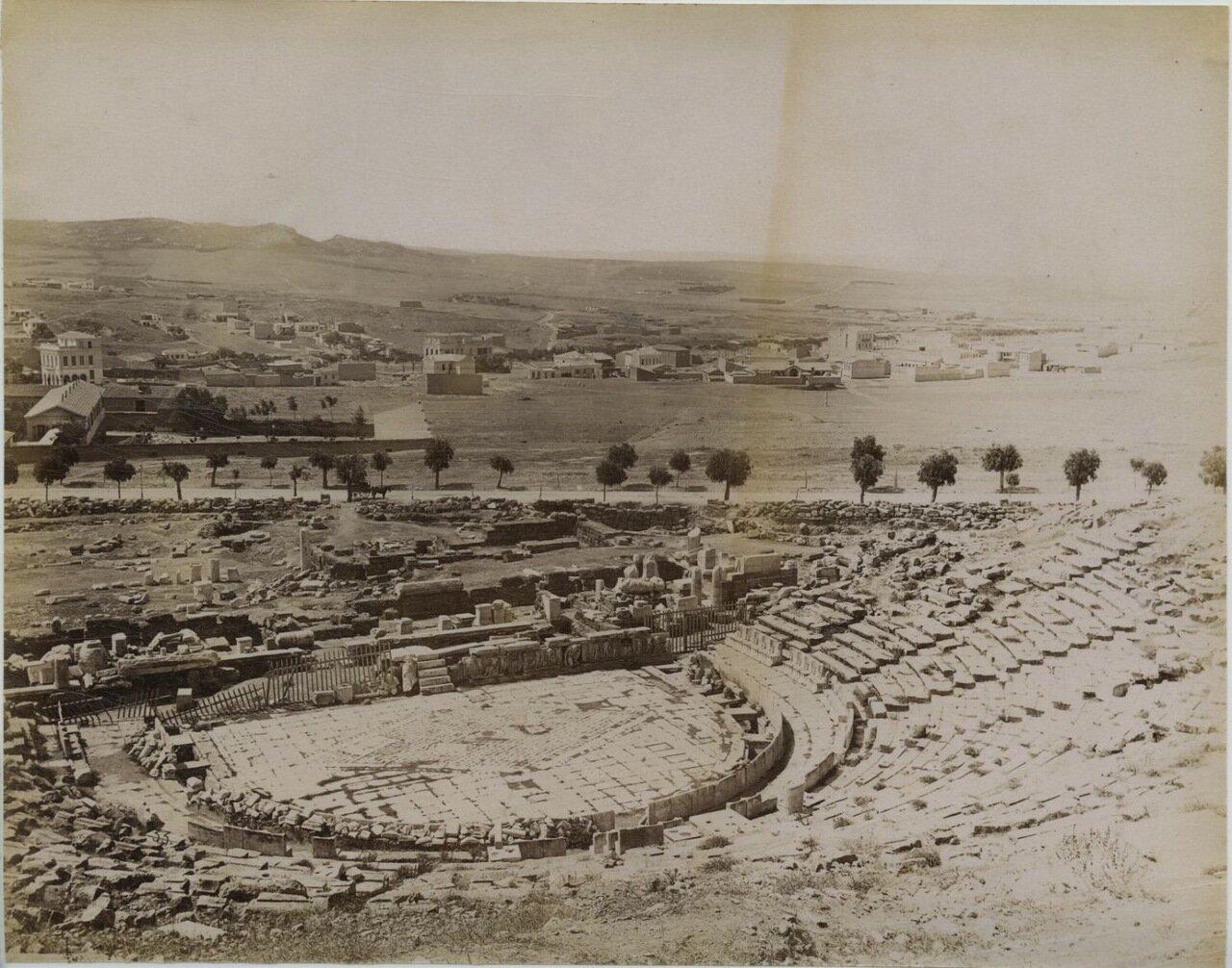 1875. Акрополь. Одеон Герода Аттического