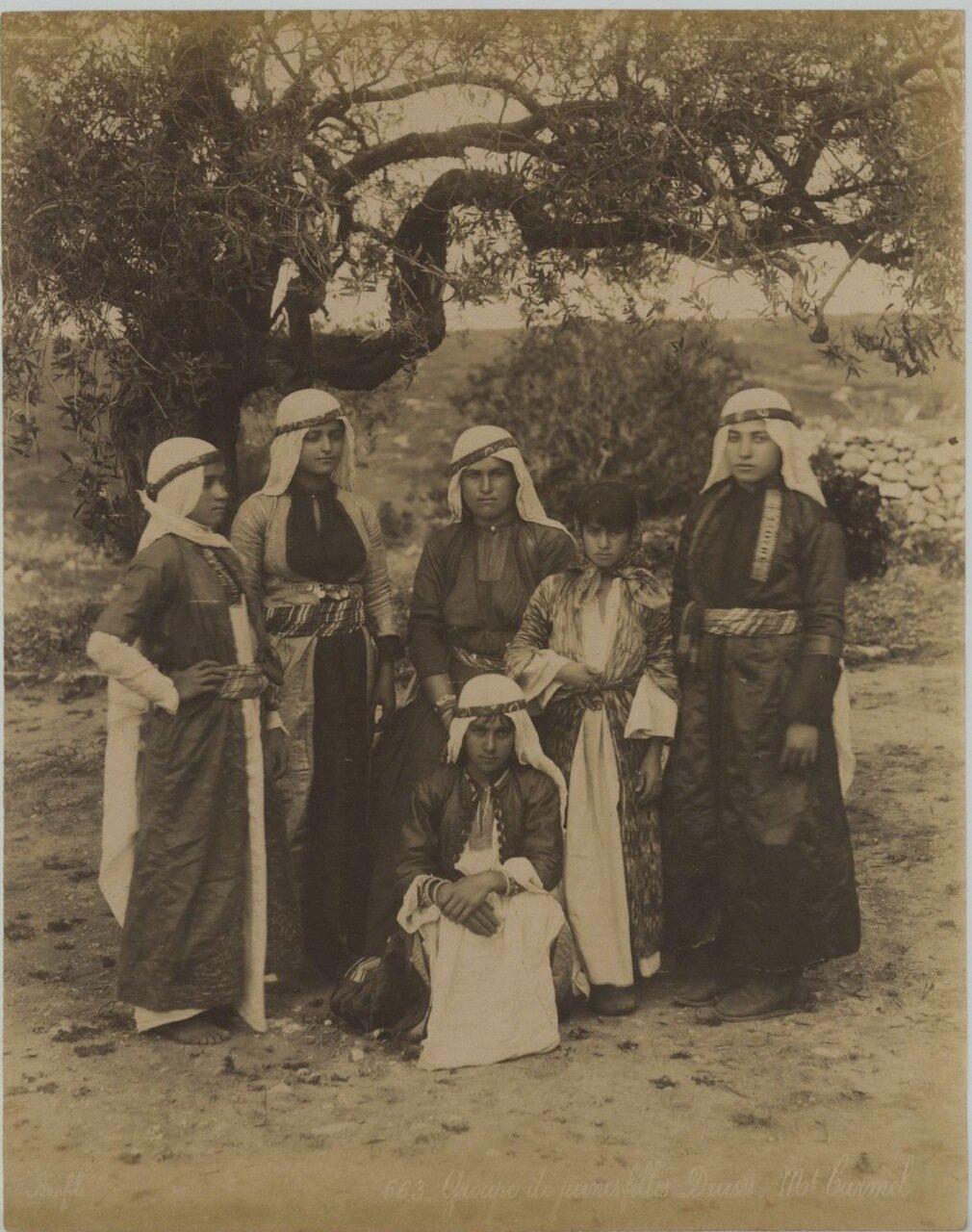 Женщины друзов. Гора Кармель
