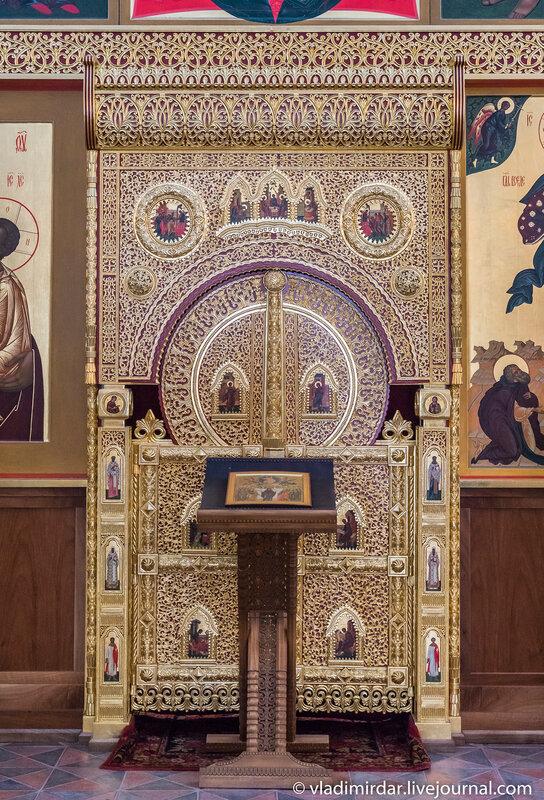 Алтарные врата церкви Вознесения в Коломенском